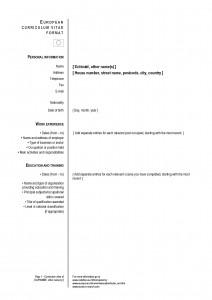 Cómo hace un currículum vitae y plantillas o moldes para descargar