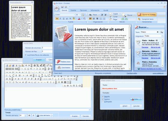 Chuletas 2.0: usar gadgets para copiar en un examen