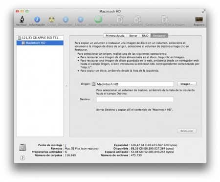 Cómo regresar de Mac OS X Lion a Snow Leopard