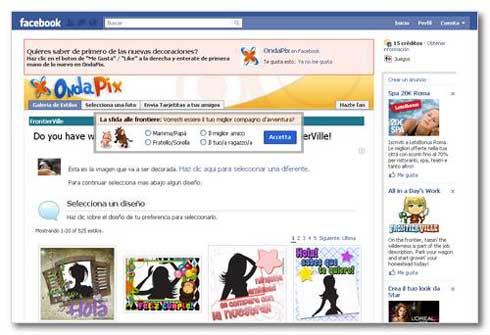 Cómo editar y poner marcos de fotos fácilmente en Facebook con: Ondapix