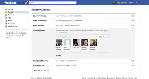 Nueva forma de recuperar passwords de Facebook si te hackean