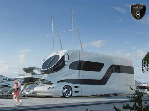 Sera un autob s un yate o un gran piso de lujo o una - Casas moviles de lujo ...