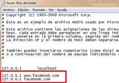 Cómo hacer para bloquear Facebook en mi PC para los mas chicos o en la oficina
