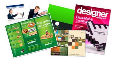 30 plantillas para brochures en PSD o trípticos, dípticos,carpetas,catalogos