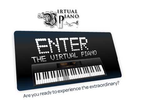 Toca el piano desde la computadora: VirtualPiano