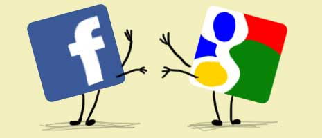 Google VS Facebook en videoGoogle VS Facebook en video