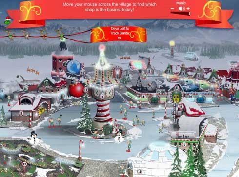 Ni papa Noel o Santa se escapa de Google ahora puedes ver en tiempo real la ruta desde que sale del Polo Norte