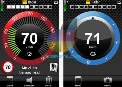 radares españa para iphone y android
