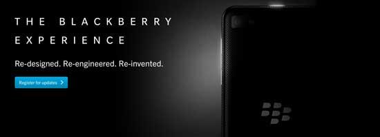 nuevo blackberry 10