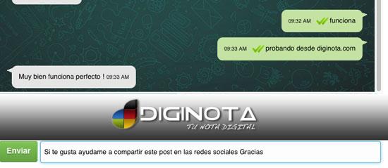 Enviar mensajes WhatsApp desde cualquier dispositivo sin instalar nada 2